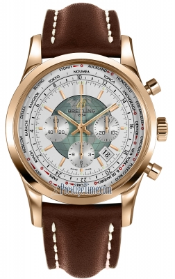 Breitling Transocean Chronograph Unitime rb0510uo/a733-2lt