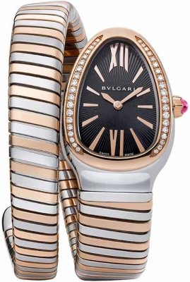 Bulgari Serpenti Tubogas 35mm sp35bspgd.1t