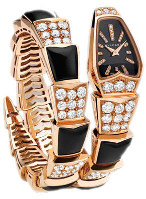 Bulgari Serpenti Jewelery Scaglie 26mm  spp26bgd1gd1o.1t