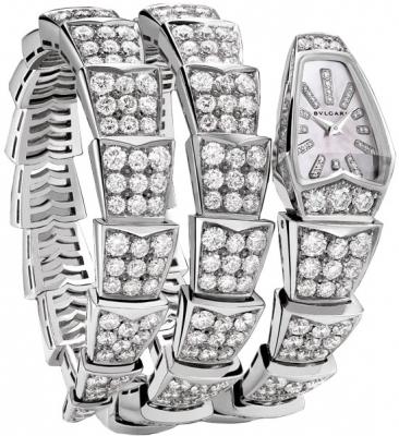 Bulgari Serpenti Jewelery Scaglie 26mm  spw26wgd1gd2.2t