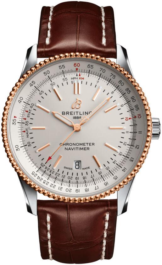 Breitling Mens U17326211g1p2 Navitimer 1 41 Watch Automatic