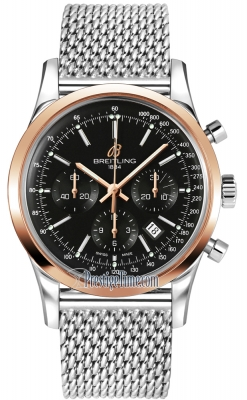 Breitling Transocean Chronograph 43mm ub015212/bc74-ss