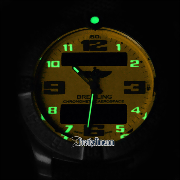 Glowing dial