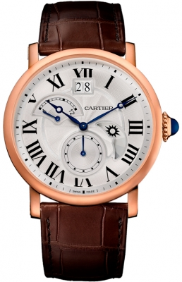 Cartier Rotonde de Cartier Retrograde Time Zone w1556240