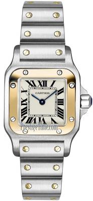 Cartier Santos Galbee Quartz w20012c4