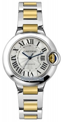 Cartier Ballon Bleu 33mm w2bb0002