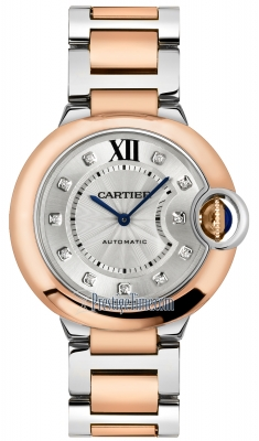 Cartier Ballon Bleu 36mm w3bb0013