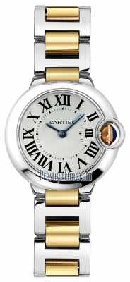 Cartier Ballon Bleu 28mm w69007z3