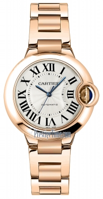 Cartier Ballon Bleu 33mm w6920096