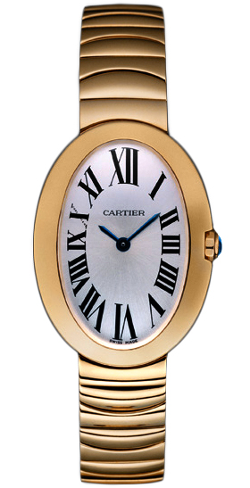 w8000005 cartier baignoire small ladies watch. Black Bedroom Furniture Sets. Home Design Ideas