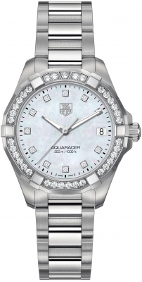 Tag Heuer Aquaracer Quartz Ladies 32mm way1314.ba0915