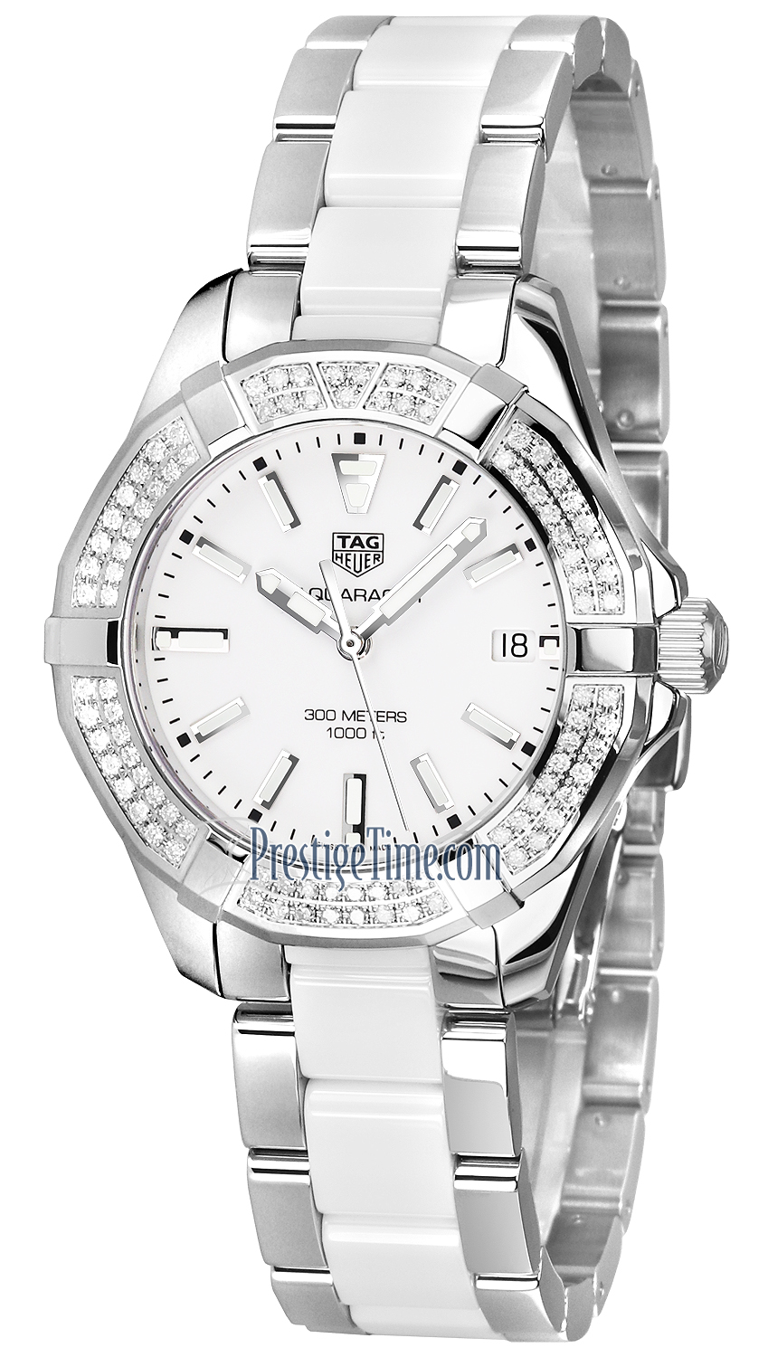898d799ce25 way131f.ba0914 Tag Heuer Aquaracer Quartz Ladies 35mm Ladies Watch