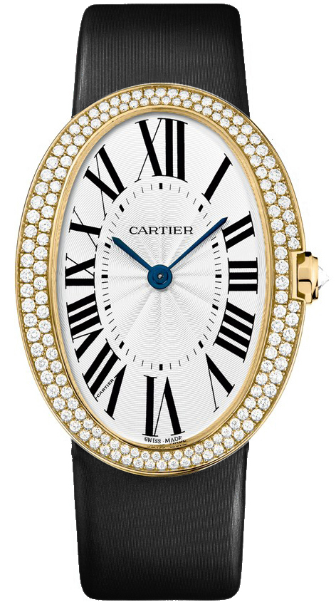 wb520022 cartier baignoire large ladies watch. Black Bedroom Furniture Sets. Home Design Ideas