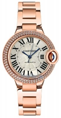 Cartier Ballon Bleu 33mm we902034