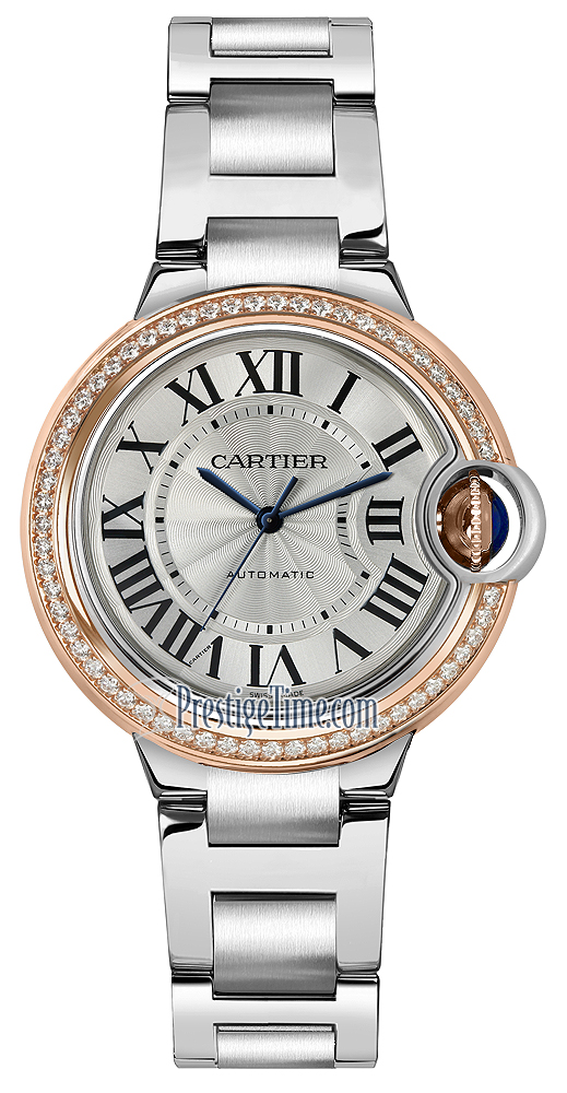 2a6b75e2d715 Availability. Cartier Ballon Bleu 33mm Ladies Watch