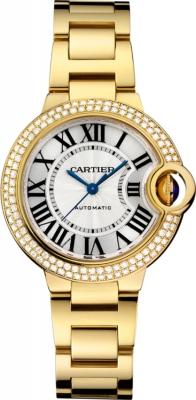 Cartier Ballon Bleu 33mm wjbb0002