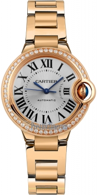 Cartier Ballon Bleu 33mm wjbb0036
