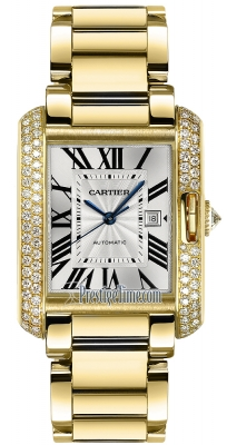 Cartier Tank Anglaise Medium Automatic wt100006