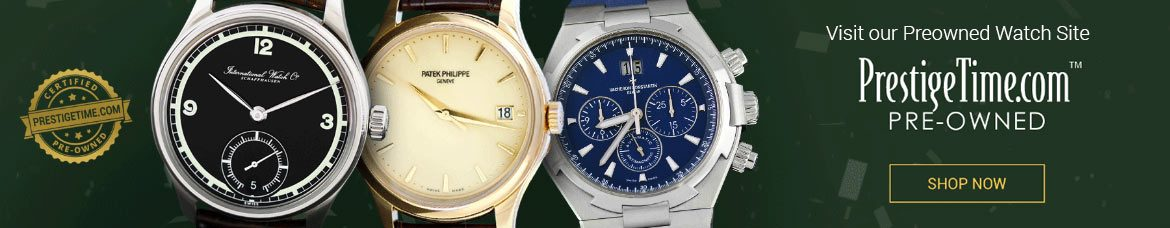 Preowned Luxury Watches for Men and Women