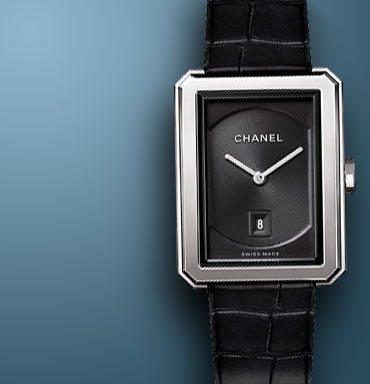 mens designer watches breitling 9u2o  Chanel Boy-Friend