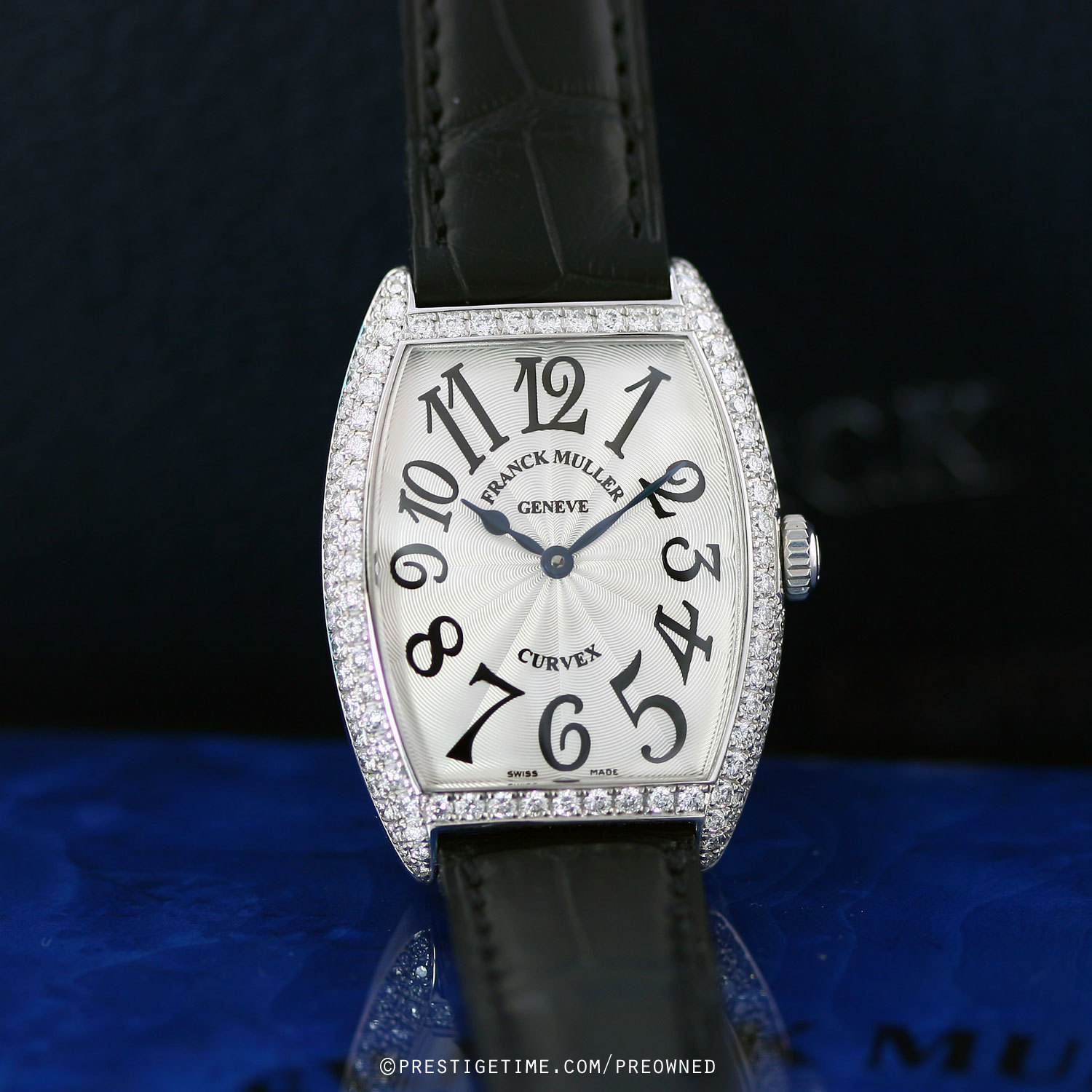 Pre owned franck muller cintree curvex 7502 qz d for Franck muller watches