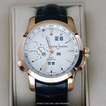 Pre-owned Ulysse Nardin Perpetual Manufacture 43mm 322-10
