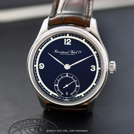 Pre-owned IWC Portuguese Hand Wound Eight Days 75th Anniversary IW510205
