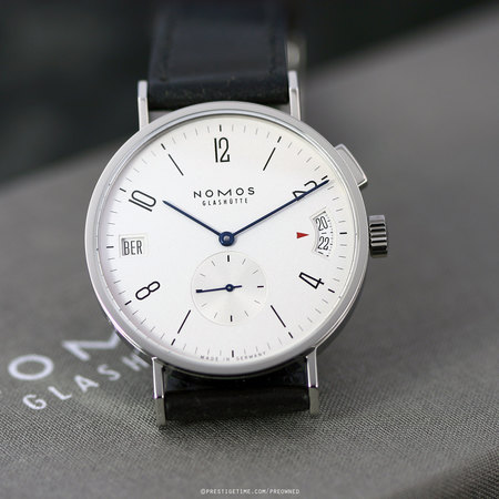 Pre-owned Nomos Glashutte Tangomat GMT 635