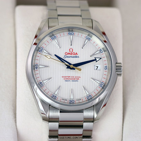 Pre-owned Omega Aqua Terra 150m Master Co-Axial RYDER CUP EDITION 231.10.42.21.02.004