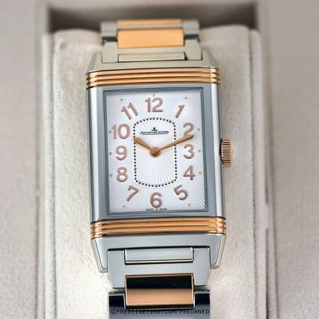Pre-owned Jaeger LeCoultre Grande Reverso Lady Ultra Thin Quartz 3204120