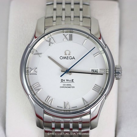 Pre-owned Omega De Ville Co-Axial Chronometer 431.10.41.21.02.001