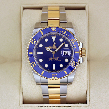 Pre-owned Rolex Oyster Perpetual Submariner Date 116613LB