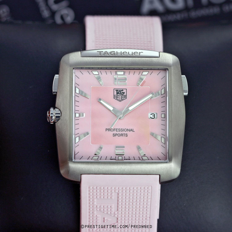 Tag Heuer Professional Golf Watch Wae1114 Ft6011