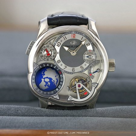 Pre-owned Greubel Forsey GMT GF GMT WG