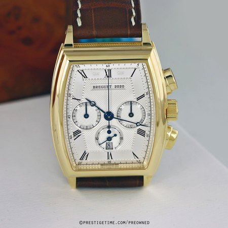 Pre-owned Breguet Heritage Chronograph 5460ba/12/996