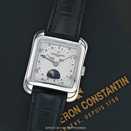Pre-owned Vacheron Constantin Toledo 1952 Triple Date Moonphase 47300/000g-9064