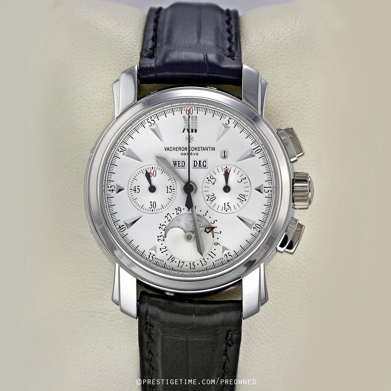 Pre owned vacheron constantin malte perpetual calendar chronograph 47112 000p 8915 for Vacheron constantin