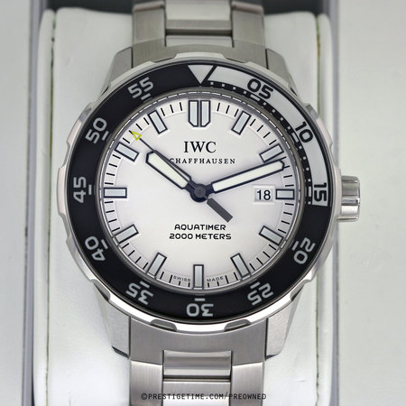Pre-owned IWC Aquatimer Automatic 2000 IW356805