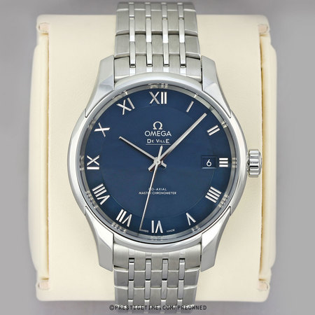 Pre-owned Omega De Ville Hour Vision Co-Axial Master Chronometer 41mm 433.10.41.21.03.001