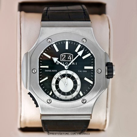 Pre-owned Bulgari Endurer Chronosprint 101878 bre56bsldchs
