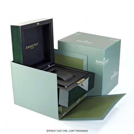 Audemars Piguet  Green Wood Box EV700014
