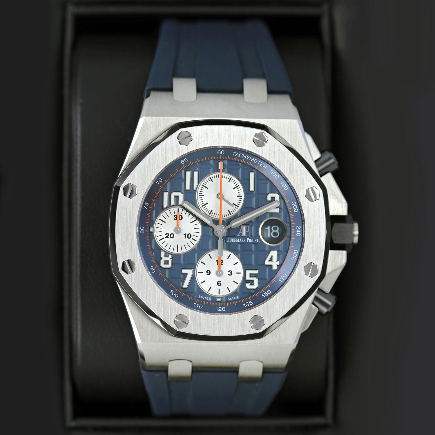 9a793e6135f Pre-owned Audemars Piguet Royal Oak Offshore Chronograph 42mm 26470st.oo .a027ca.01