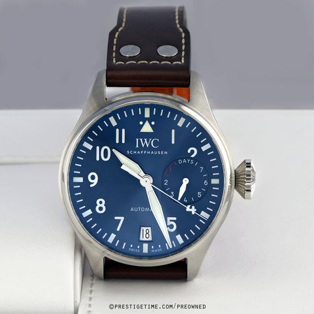 Pre-owned IWC Big Pilot's Watch Le Petit Prince IW501002