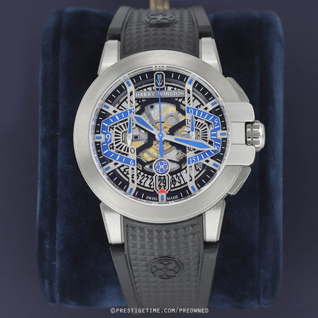 Pre-owned Harry Winston Project Z9 Chronograph OCEACH44ZZ004