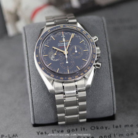 Pre-owned Omega Speedmaster Moonwatch Apollo XVII Limited 311.30.42.30.03.001