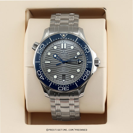 Pre-owned Omega Seamaster Diver 300m Co-Axial Master Chronometer 42mm 210.30.42.20.06.001