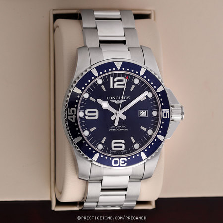 Pre-owned Longines HydroConquest Automatic 44mm L3.841.4.96.6