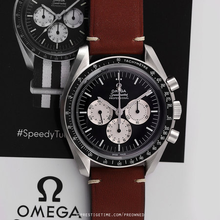 Pre-owned Omega Speedmaster SPEEDY TUESDAY 311.32.42.30.01.001