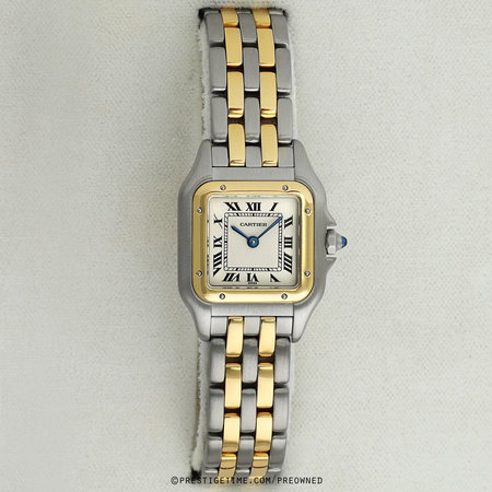 Pre-owned Cartier Panthere de Cartier Small w25029b6