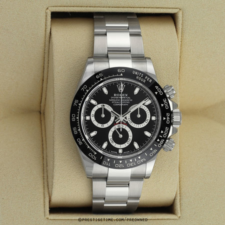 Pre-owned Rolex Cosmograph Daytona 116500LN Black